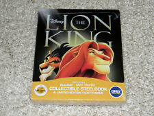 The Lion King (Blu-ray/DVD, 2017, 2-Disc Set, SteelBook from Best Buy) NEW