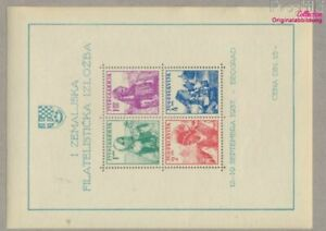 Yugoslavia block1 (complete issue) unmounted mint / never hinged 1937  (9477672