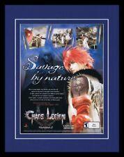 2003 Chaos Legion PS2 Framed 11x14 ORIGINAL Advertisement
