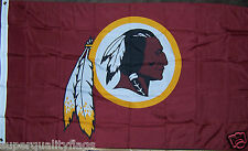 NEW 3x5 ft WASHINGTON REDSKINS LOGO FLAG BANNER au