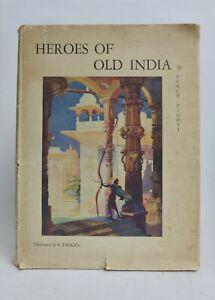 Heroes of Old INDIA Illust Serge DRIGIN Theosophical Soc 1926 1st ed in jkt
