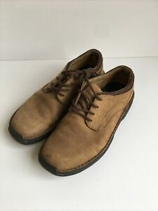 Timberland Light Brown Men's Suede Shoes Size 8.5 Wide Fitting 8.5W FO
