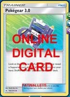 4X Pokegear 3.0 182/214 Unbroken Bonds Pokemon TCG Online Digital Card