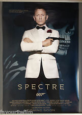 Cinema Poster: JAMES BOND SPECTRE 2015 (Main One Sheet) Daniel Craig Ben Whishaw