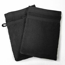 2 Articles et textiles noirs pour la salle de bain