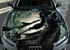 Inferno Death Car Bonnet Wrap Full Color Vinyl Sticker Decal Fit Any Car