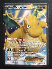 Dragonite EX 108/111 XY Furious Fists FULL ART ULTRA RARE HOLO Pokemon Card NM