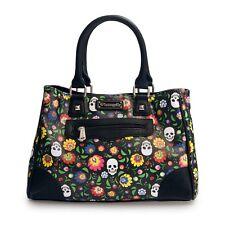 Loungefly Floral & White Skull Print Tote/Handbag (SALE!)