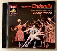 PROKOFIEV CINDERELLA  ANDRE PREVIN CD 1987 EMI London Symphony Orchestra Japan