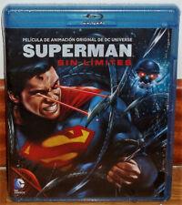 SUPERMAN SIN LIMITES BLU-RAY NUEVO PRECINTADO ANIMACION (SIN ABRIR) R2