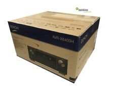 Denon avr-x6400h Av-receiver, auro 3d, HDR, heos, HDCP 2.2 (negro) nuevo comercio especializado