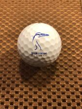 Logo Golf Ball-Blue Heron Capital.Heron Logo