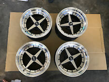 "JDM Equip 01 style 15"" AE86 Datsun ta22 pcd114 Staggered wheels 240z Z31 s30 03"