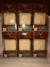 Lot Of 6 Super Mario Mystery Surprise Charm Bath Bomb