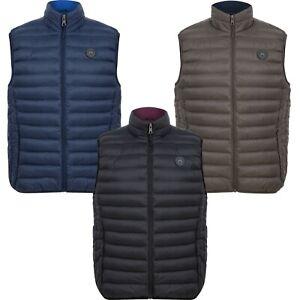 Men's Tokyo Laundry Gilet Padded Sleeveless Jacket Quilted Puffer Bodywarmer
