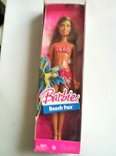 Barbie Beach Fun Summer Doll J0710  New, NRFB, MINT  condition