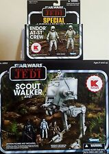Star Wars At-st Scout Walker AT-ST de controladores tanto Nuevo Vintage Collection 2011