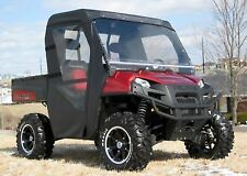 Full Cab Enclosure for Polaris Ranger 4x4 XP HD w/ Hard Windshield - Commercial