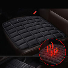 Car Seat Black Heating Cover 12V Heater Warm Pad Winter USB Interface 45x45cm