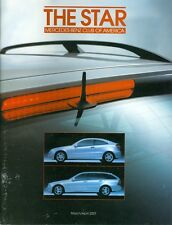 2001 The Star Magazine (Mercedes-Benz Club of America) March/April