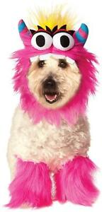 Furry Monster Set Cute Pet Shop Fancy Dress Halloween Dog Cat Costume 2 COLORS