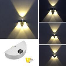 3W LED Wandlampe Wandleuchte Flurleuchte Wandstrahler Treppenlampe Flur Licht DE