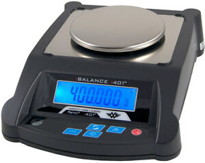 My Weigh iBalance 401 Laborwaage 400g 0,005g Feinwaage duales Display Goldwaage