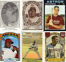 "2007  ""TOPPS""  WAL-MART  PIC YOUR OWN 5 CARD LOT"