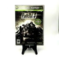 Fallout 3 Microsoft Xbox 360 Platinum Hits Bethesda 2008 Very Good No Manual