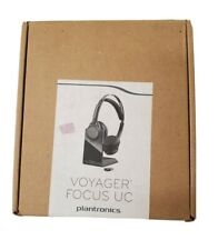 Plantronics B825 Voyager Focus UC Bluetooth USB Headset - NEW OPEN BOX