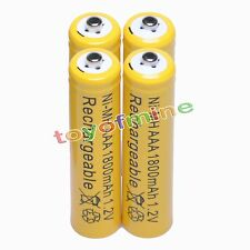 4 AAA 1800mAh 1.2V Ni-MH rechargeable battery RC/Cell O