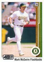 2002 Upper Deck 40-Man Baseball Mark McGwire Flashback #MM12 Oakland Athletics