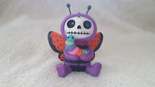 Furrybones Figurine Flutters the Butterfly Skull in Costume New Free Shipping!