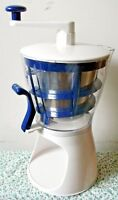 Naturally Simple 10 Minute Soft Serve Ice Cream Maker Back To Basics ICM32 NEW