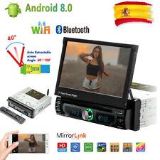 "Android 8.0 7"" Autoradio Bluetooth DVD Player WIFI GPS Navi 1DIN USB FM AUX MP4"