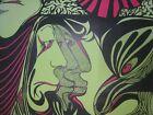 1967 ' Fantasies Of Invention ' Original  Blacklight Poster Psychedelic G. Boop