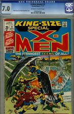 X-MEN ANNUAL #2-CGC 7.0- HIGRADE MARVEL 1971-UNCOMMON BOOK