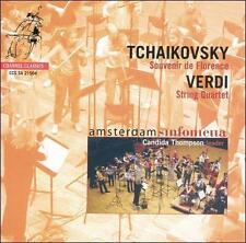 Tchaikovsky: Souvenir de Florence; Verdi: String Quartet Super Audio Hybrid...