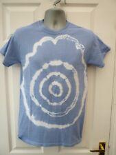 Gildan Ladies Para Hombre Talla S 10 12 Blue Circle Algodón Festival Tie Dye T SHIRT Top