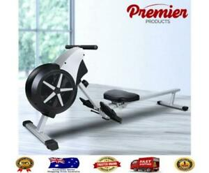 Everfit Rowing Machine Rower Resistance Exercise Fitness Gym Home Cardio Air