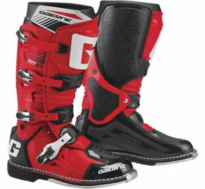 2020 Gaerne SG 10  - Motocross / Off Road / Dirtbike Boots - Red/Black