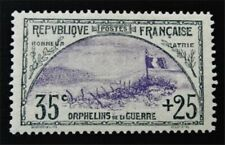 nystamps France Semi-Postal Stamp # B7 Mint OG H $135