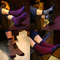 5pair Men's Casual Soft Cotton Ankle Socks 5 Colors One Size Sock US 7~12