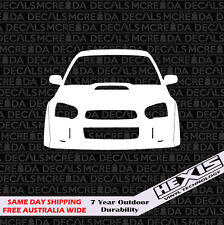 Custom Blob Eye Subaru Sticker Vinyl Decal For Jdm Car Awd Window Wrx Peanut