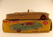 Dinky Toys GB n° 132 Packard Convertible en boite