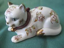 Franklin Mint Curio Cats Collection - Satsuma Cat