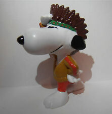 SNOOPY AMERICAN INDIAN PEANUTS VINTAGE by SCHLEICH SMURFS CHARLIE BROWN no241