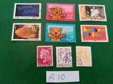 sellos francia france republique francaise palacios y monumentos flores infantil