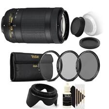 Nikon AF-P DX NIKKOR 70-300mm f/4.5-6.3G ED VR Lens with Top Accessory Kit