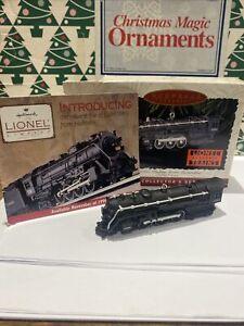 700E Hudson Steam Locomotive Lionel Christmas Hallmark Keepsake Ornament NIB
